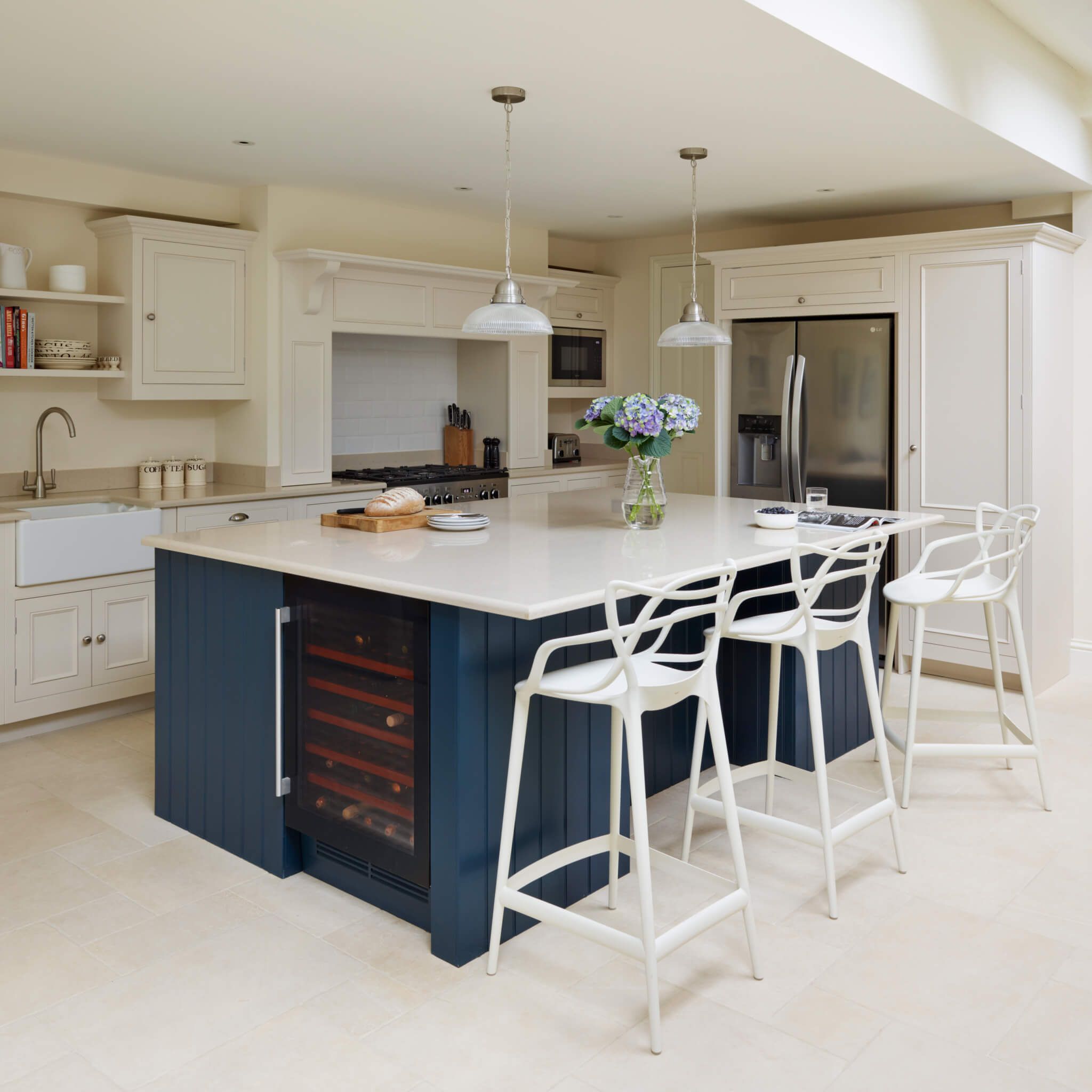 Latest Projects Open-Plan Original Kitchen Design