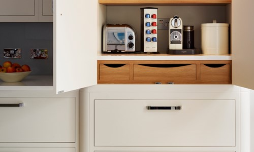 Harvey Jones bespoke kitchen storage