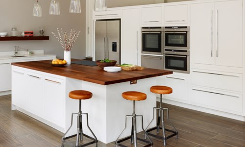 Harvey Jones white Linear kitchen