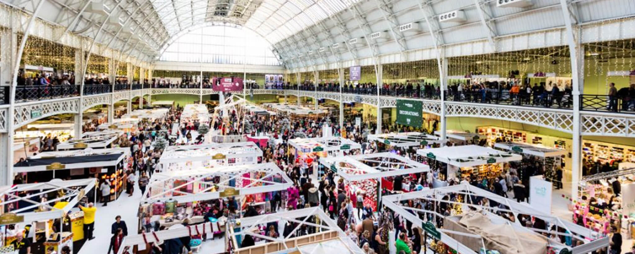 Design News Ideal Home Show At Christmas