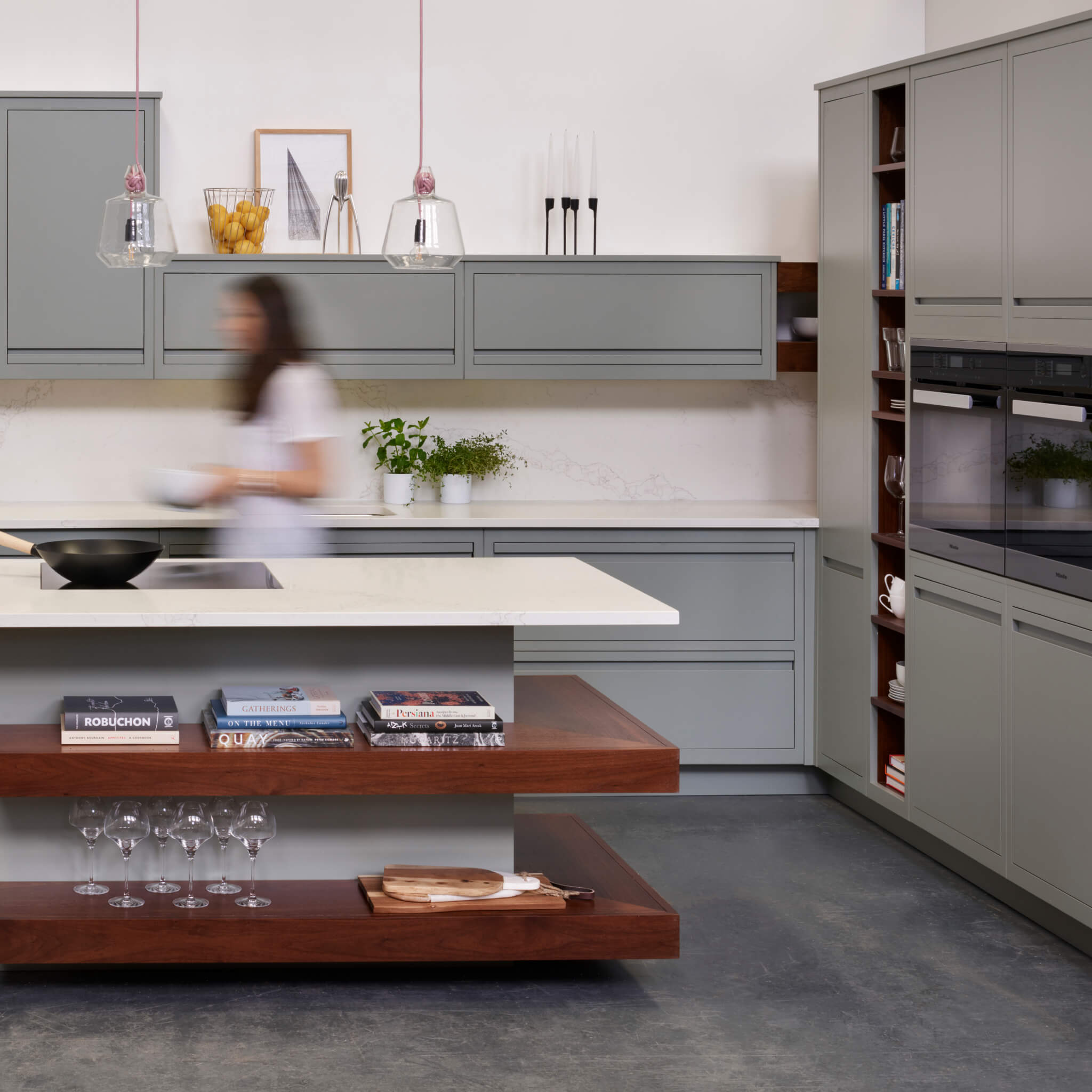 Introducing Linear Edge Our Handleless Kitchen Design
