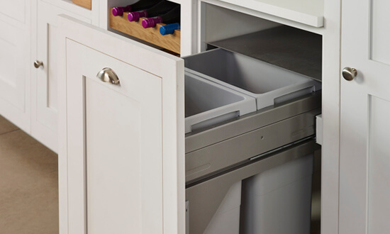 Integrated Bin Cupboards
