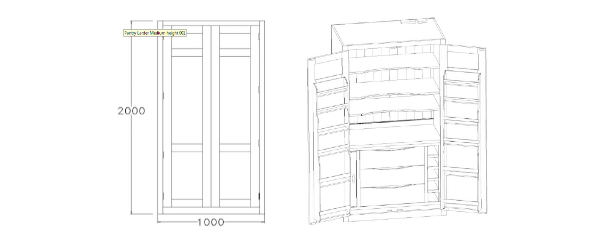 Student Design Competition Reimagining Our Pantry Larder
